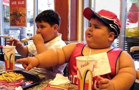 Overweight children will be taken into care, parents warned