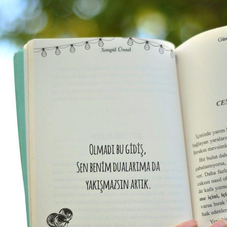 Olmadı bu gidiş, sen benim dualarıma da yakışmazsın artık. - Songül Ünsal / Günaydın Sızım(Kaynak: Instagram - songulunsall) #sözler #anlamlısözler #güzelsözler #manalısözler #özlüsözler #alıntı #alıntılar #alıntıdır #alıntısözler #şiir #edebiyat #kitap #kitapsözleri #kitapalıntıları #günaydınsızım