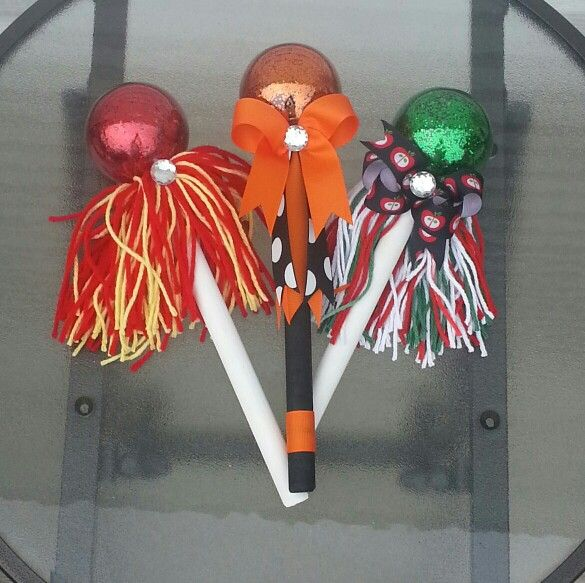Spirit stick noise makers $20 each on etsy/southberkeleyspirit