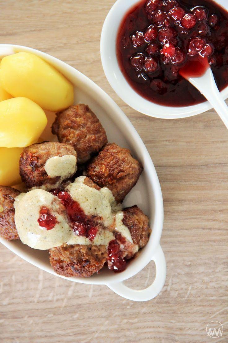V kuchyni vždy otevřeno ...: Köttbullar - švédské masové kuličky