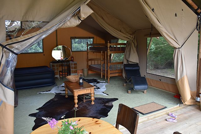Safari Tent at The Norfolk Brickyard