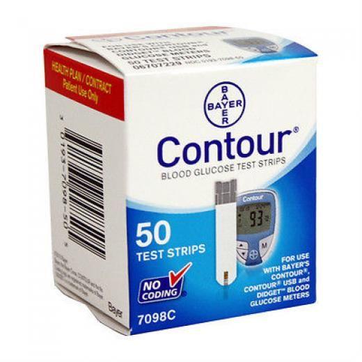 Bayer Contour Blood Glucose 50 Test Strips 7097c Exp 11/25/2018 Best Price Japan No