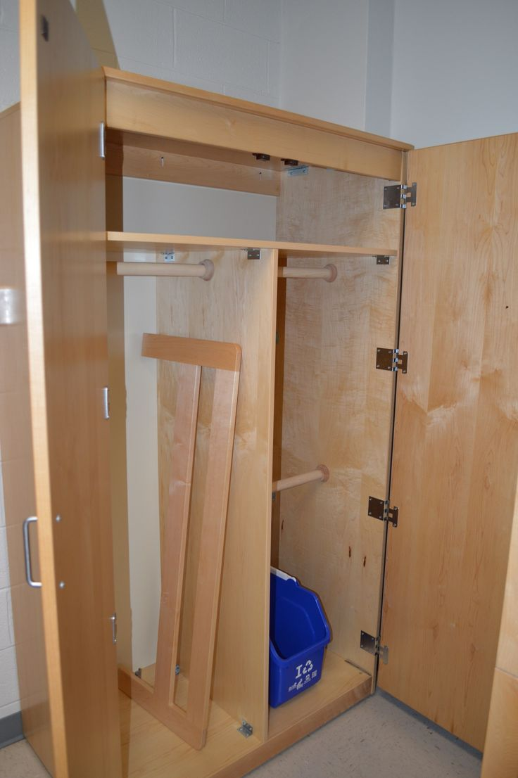 Hess Residence Hall Room Closet (1 Of 2 Closets In Room)