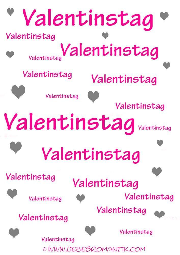 Valentinstag Zum Ausdrucken In 2020 Valentinstag Spruche Valentinstag Text Valentinstag