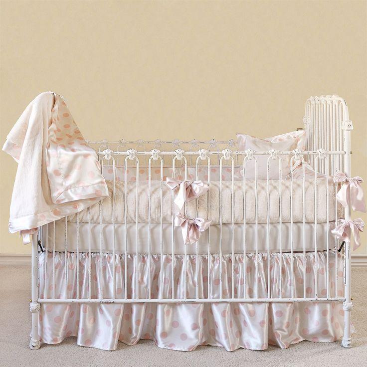Giraffe Crib Bedding Pink