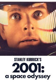 2001: A Space Odyssey (1968) - Humanity finds a mysterious, obviously artificial, object buried beneath the Lunar surface and, with the intelligent computer H.A.L. 9000, sets off on a quest.