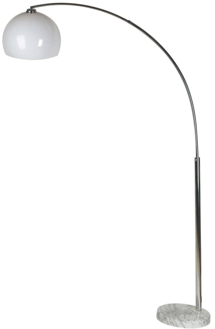 KARE Design Designerleuchte SL Lounge Big Deal Econo In Weiß Aus Marmor,  Verchromtem Metall Und