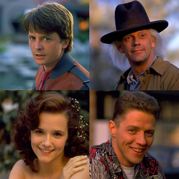 Back To The Future Biff And Lorraine