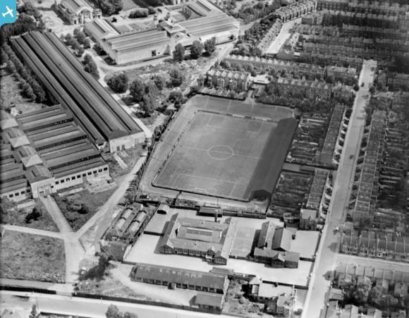 Queen's Park Rangers FC, Loftus Road, Shepherd's Bush, W12, 1928