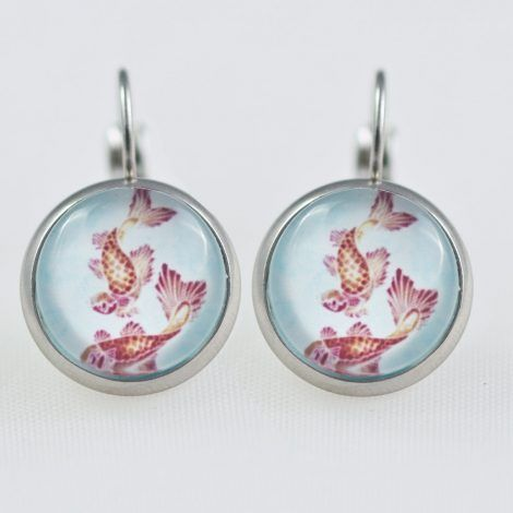 Koi dangle Earrings – Chica Manga