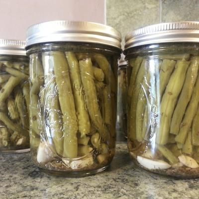 Pickled Green Beans Dilly Beans) Recipe - Genius Kitchen