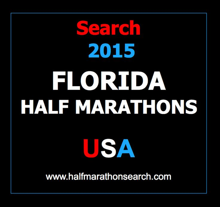 74 best images about Florida Half Marathons on Pinterest