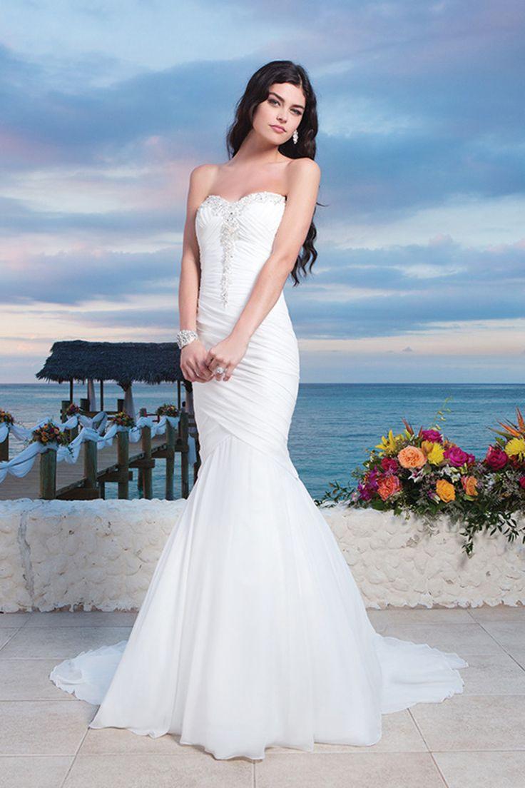 76 best Mermaid Wedding Dresses images on Pinterest | Wedding ...