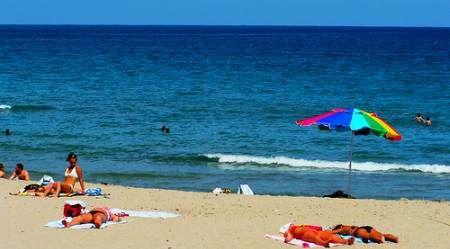Delray Beachgoers in January