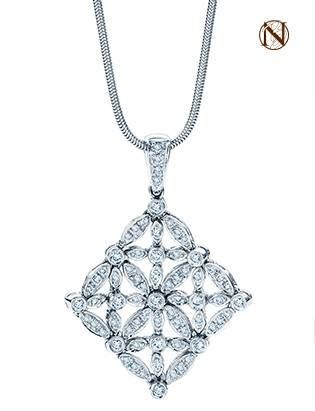 Beautiful #Diamond #Pendant - all made with flexable joints so it moves with your body - just gorgeous!