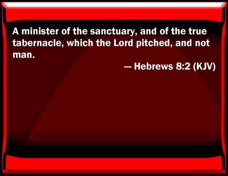 Image result for hebrews 8:2