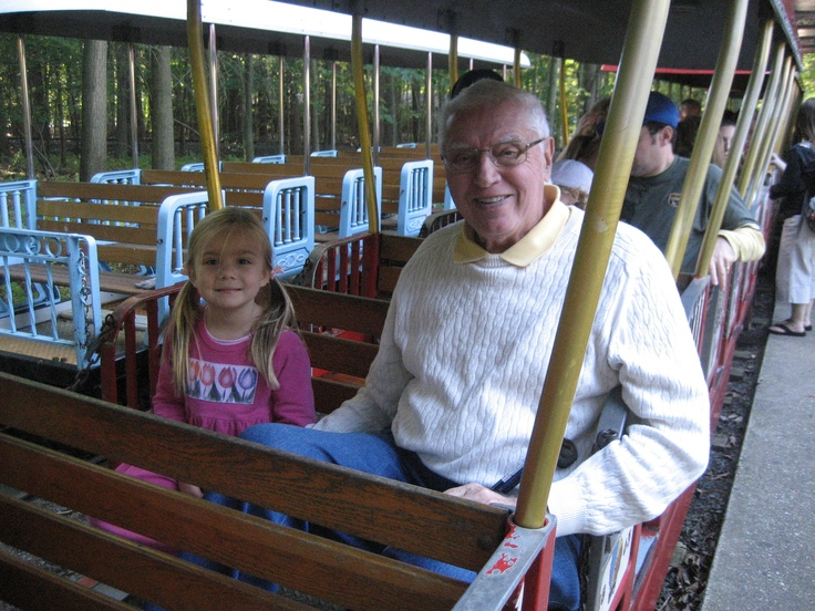 Everyone loves the Choo Choo train ride at Turtle Back Zoo as it chugs along the reservoir