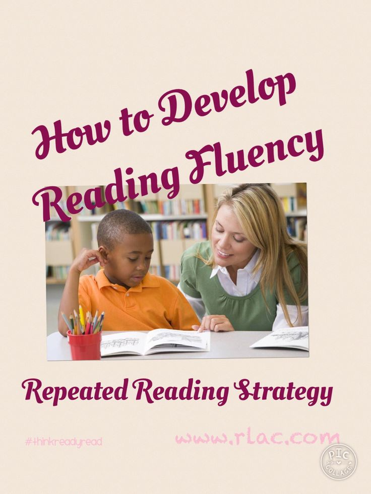 Develop Reading Fluency with Repeated Reading!
