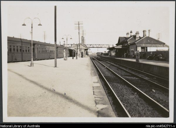 Blacktown Railway Station in 1947.Photo from National Library of Australia.A♥W