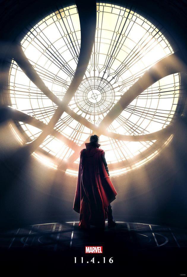 Doutor Estranho: Marvel revela primeiro pôster oficial do filme - Minha Série