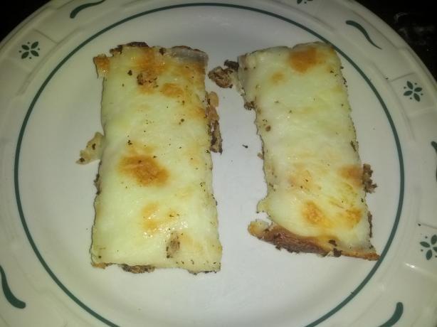 Cheesy Garlic Cauliflower Mock Breadsticks (Low Carb)