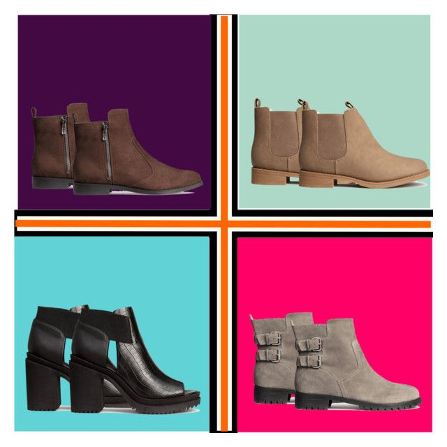 """""""Fall Boots"""" by girlie-contrast on Polyvore featuring H&M"""