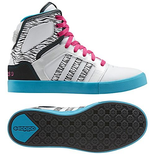 Adidas Neo Shoes High Tops For Girls