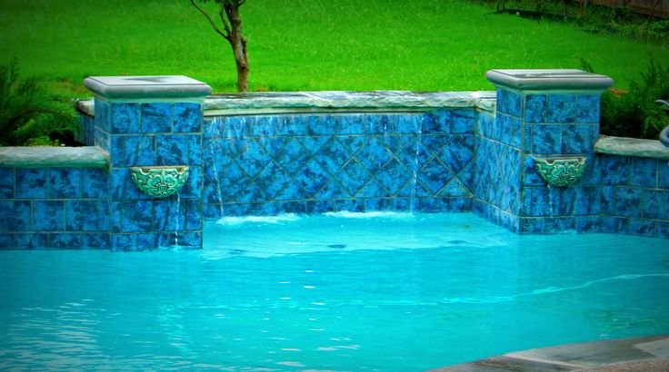 27 best indoor fountains waterfall designs images on pinterest water features indoor water for Fort worth swimming pool builders