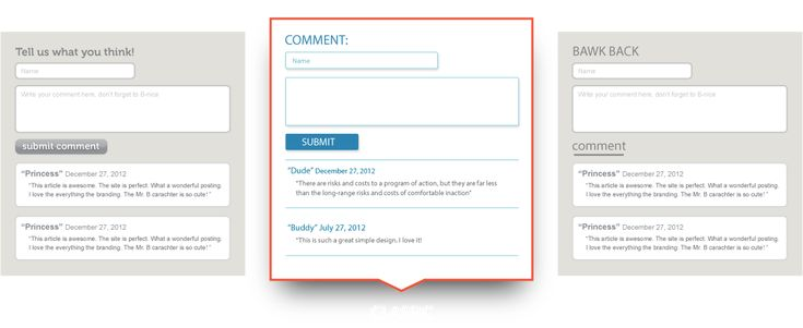 HTML Comment Box - Hosted Website Comments!