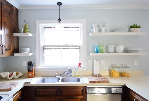 Best Hanging Ikea Floating Shelves In Our Kitchen Floating 400 x 300