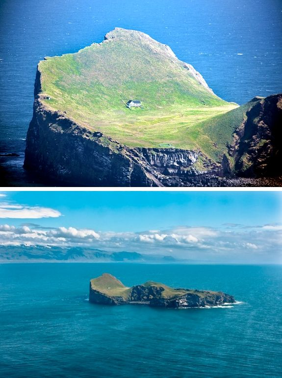 Iceland's Elliðaey (Ellidaey) Island, the secluded house upon it, and why it looks built to survive a zombie apocalypse