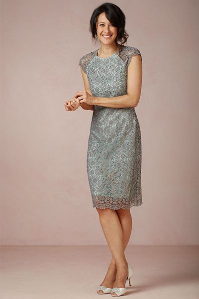 Guest of the Wedding Dress | BHLDN | Camille Styles || Perfect for a morning backyard wedding. ~