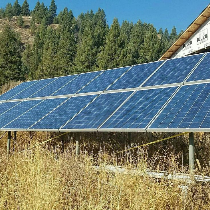 We had the luxury of inspecting this beautiful 5kW solar off-grid system with #xantrexinverter on our way through Geenwood BC.  They had a whopping 27.5 KVA diesel generator for topping up charge and provided surplus power during the winter months.  Being located in a small valley lack of sun hours during the winter was a major consideration when designing this system making the size of the battery bank and subsequently the days of autonomy imperative to getting the system right.  They are…