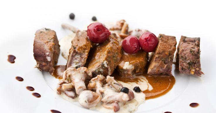 Recette - Epaule de chevreuil sauce groseille   750g