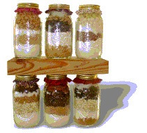 Stacked Cookie Recipes in Mason Jars by Deborah Dolen Excerpt Kitchen Arts: Gifts in Jars on Amazon Kindle