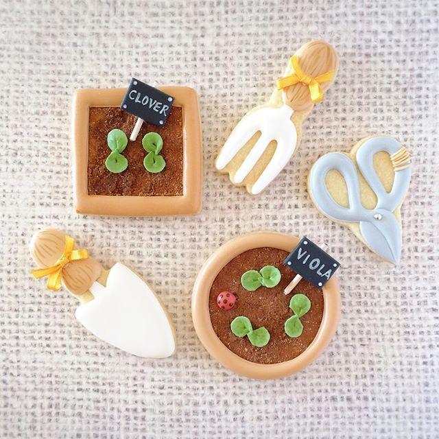 Gardening cookies!