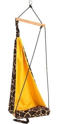 Dětské závěsné křeslo Mini hang giraffe - Kliknutím zobrazíte detail obrázku.