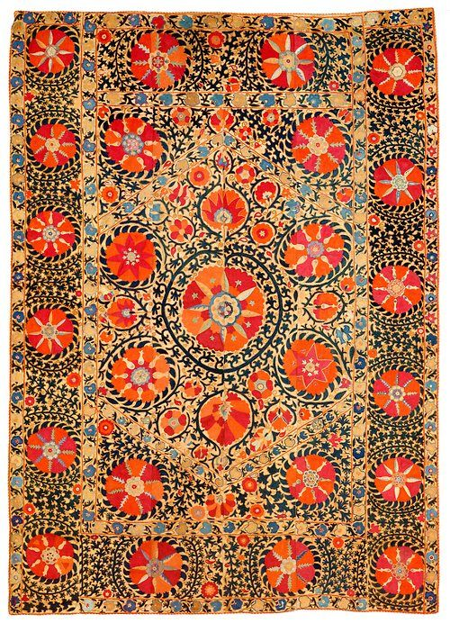 kivatextiles:    Susan Meller, Russian Textiles: Printed Cloth for the Bazaars of Central Asia, 2007