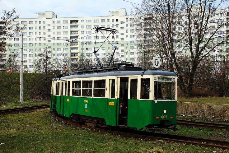 Konstal N #602+456 MPK Poznań