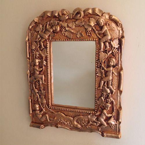 Melek Desenli Ayna