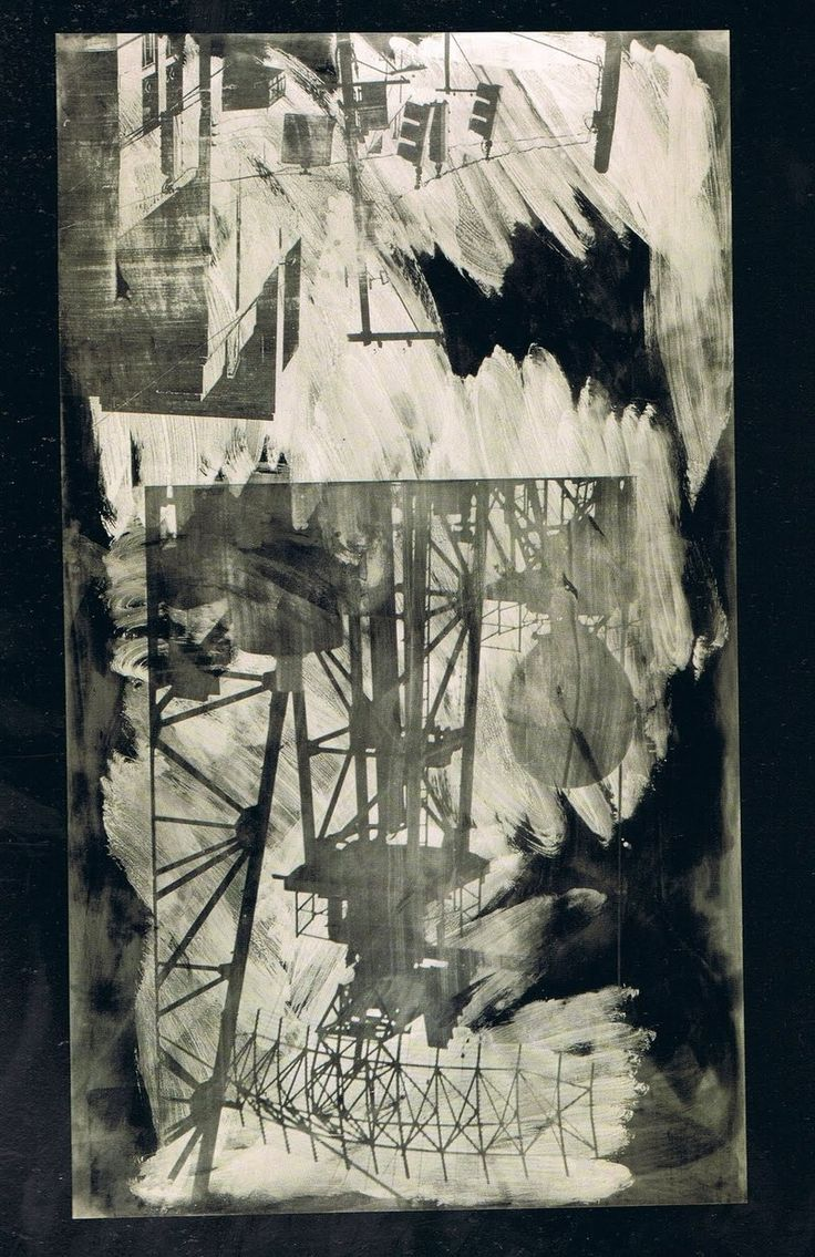 Intersection (Night Shade), 1991 Robert Rauschenberg