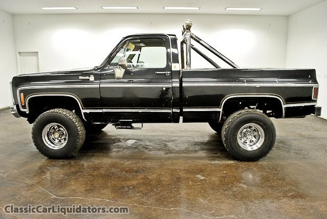 classic car liquidators 1980 chevrolet silverado swb k10 4x4 2 999 auto pinterest cars. Black Bedroom Furniture Sets. Home Design Ideas