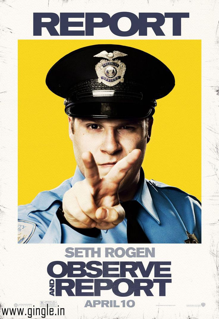 You can always visit gingle for direct download links to new and latest movies like this movie Observe and Report which you can download at http://www.gingle.in/movies/download-Observe-and-Report-free-2149.htm for free. Subscribe for more fun!