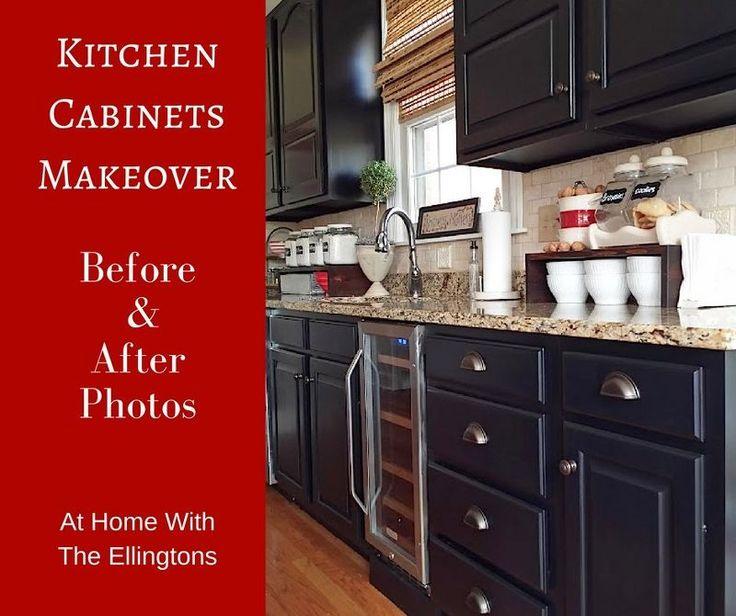 Minnesota Kitchen Cabinets: 1000+ Ideas About Black Kitchen Cabinets On Pinterest