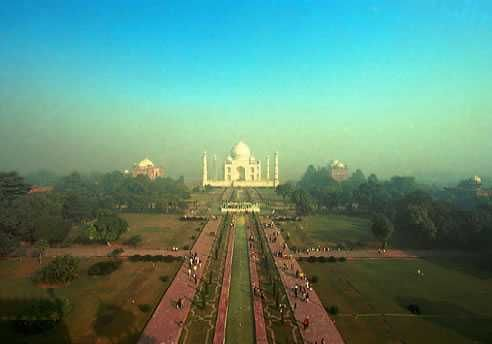 Taj Mahal tour by car, train, or air. Some more famous places in Agra worth visiting are the Agra Fort and the Buland Darwaza at Fatehpur Sikri.