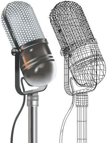 vintage microphone drawings jpg 1080x810