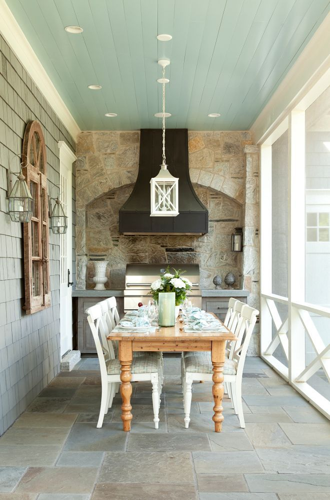 17 best images about beautiful porches on pinterest Rules for painting ceilings