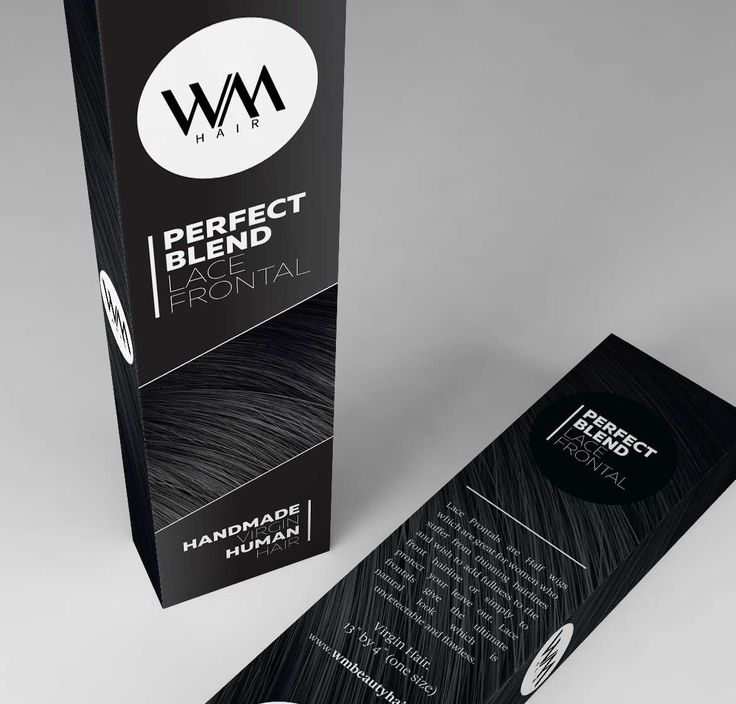 #HairExtensions #Packaging Design for Whitney Marie Hair Extensions