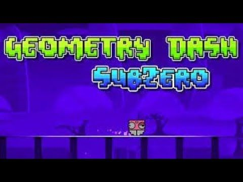 Geometry Dash Subzero Gameplay All levels And Coins Complete