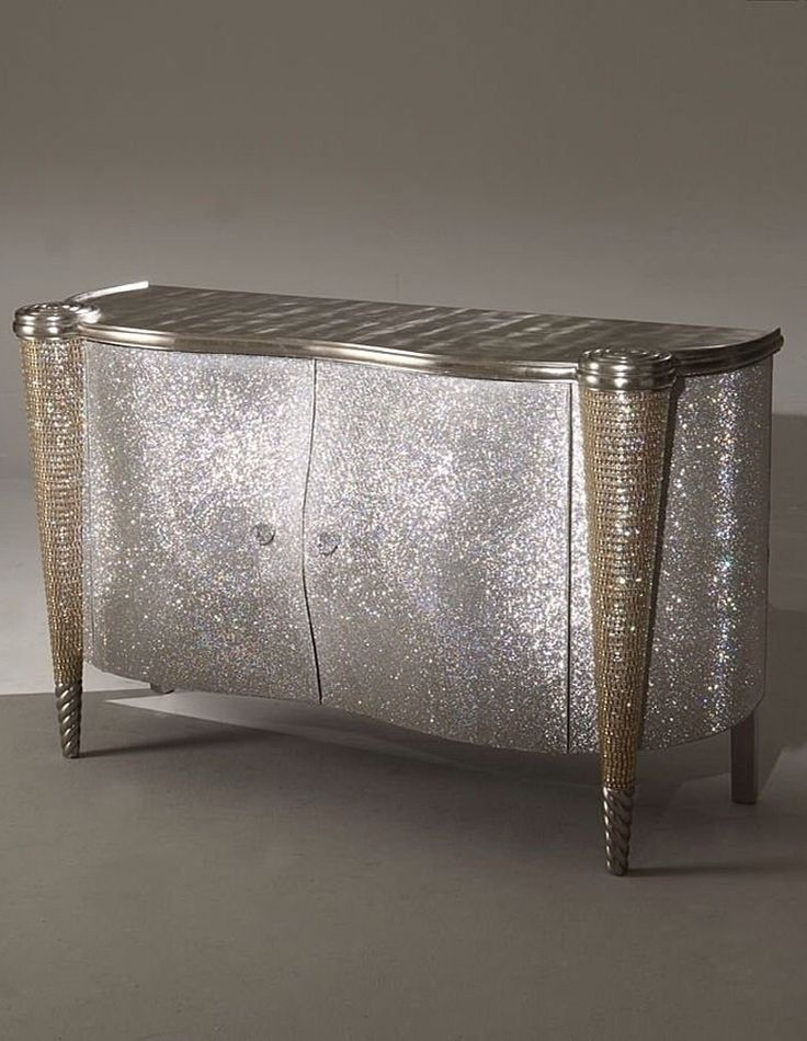 Bling Furniture - made entirely with Swarovski crystals.....